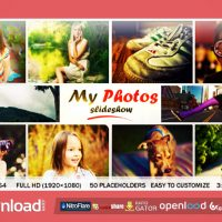 MY PHOTO SLIDESHOW FREE DOWNLOAD| VIDEOHIVE TEMPLATE
