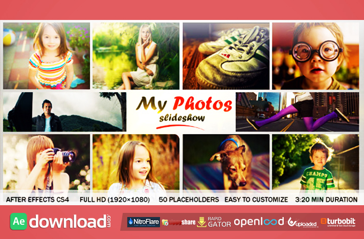 My Photo Slideshow free download (videohive template)