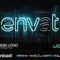 NEON SIGN LOGO (VIDEOHIVE PROJECT) FREE DOWNLOAD