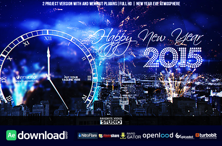 New Year Eve Countdown free download (videohive template)