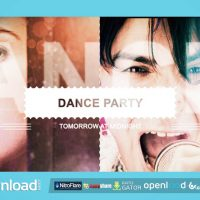 NIGHT CLUB MUSIC AND DANCE PARTY SLIDESHOW VIDEOHIVE FREE TEMPLATE