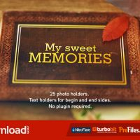 OLD MEMORIES ALBUM GALLERY (VIDEOHIVE PROJECT) FREE DOWNLOAD