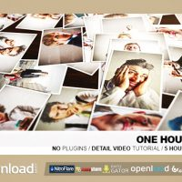 ONE HOUR PHOTO VIDEOHIVE TEMPLATE FREE DOWNLOAD