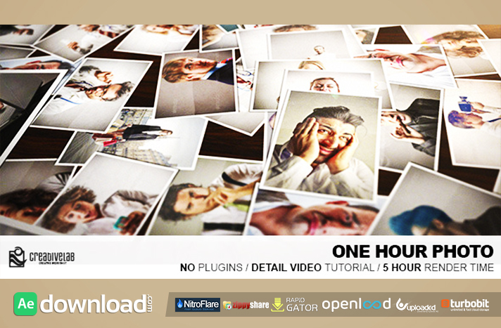 One Hour Photo free download (videohive template)