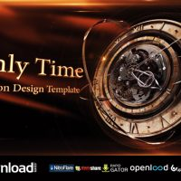 ONLY TIME VIDEOHIVE FREE TEMPLATE