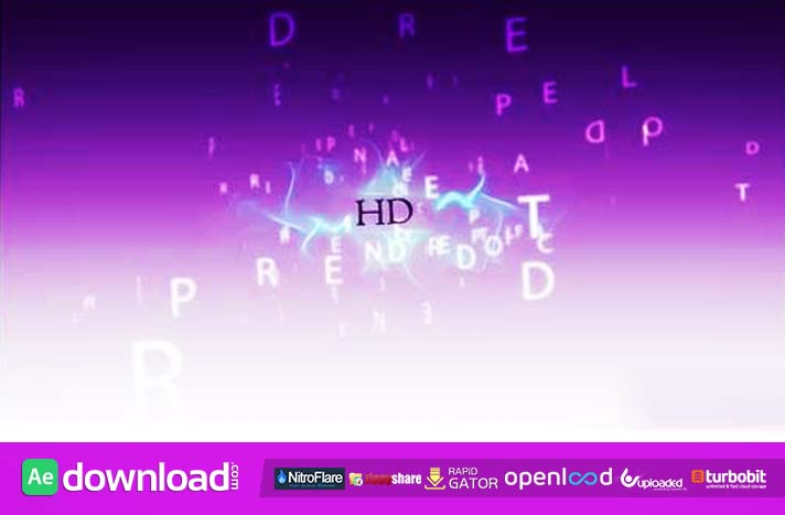 PROMO 3D TEXT VIDEO PROJECT POND5