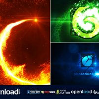 PARTICLE VORTEX LOGO REVEAL 10117585 FREE DOWNLOAD