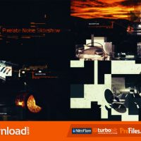 PIXELATE NOISE SLIDESHOW (VIDEOHIVE PROJECT) FREE DOWNLOAD