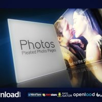PLEATED PHOTO PAGES (VIDEOHIVE PROJECT) FREE DOWNLOAD