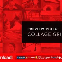 PREVIEW VIDEO SCREEN COLLAGE GRIDS VIDEOHIVE PROJECT – FREE DOWNLOAD
