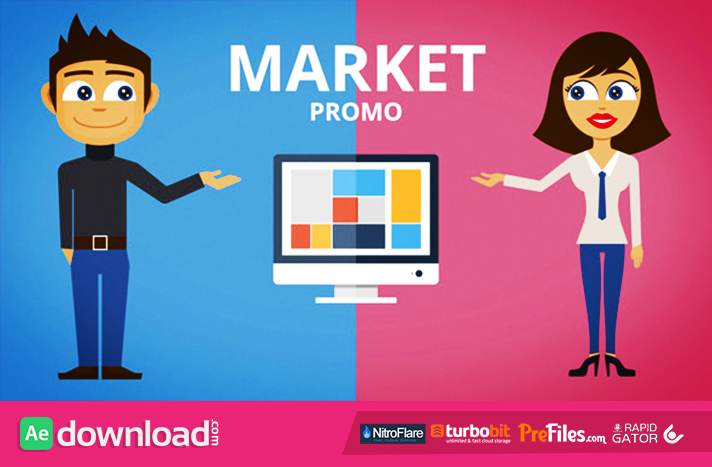 Product Agency Market App Website PromoProduct Agency Market App Website Promo
