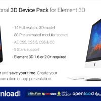 PROFESSIONAL 3D DEVICE PACK FOR ELEMENT 3D FREE DOWNLOAD| VIDEOHIVE TEMPLATE