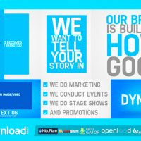 PROMOTE YOUR BUSINESS VIDEOHIVE TEMPLATE – FREE DOWNLOAD