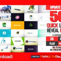 QUICK LOGO REVEAL PACK (VIDEOHIVE PROJECT) FREE DOWNLOAD