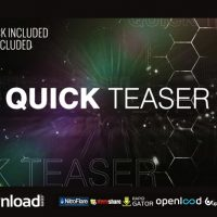 QUICK TEASER VIDEOHIVE PROJECT – FREE DOWNLOAD