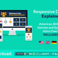 RESPONSIVE DESIGN EXPLAINER FREE DOWNLOAD – VIDEOHIVE PROJECT