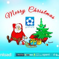 SANTA LOGO POND5 FREE DOWNLOAD