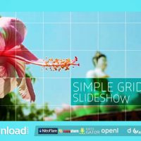SIMPLE GRID SLIDESHOW FREE DOWNLOAD VIDEOHIVE PROJECT
