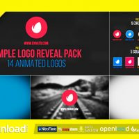 SIMPLE LOGO REVEAL PACK FREE DOWNLOAD (VIDEOHIVE)