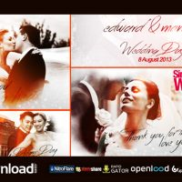 SIMPLE WEDDING SLIDESHOW FREE DOWNLOAD VIDEOHIVE TEMPLATE