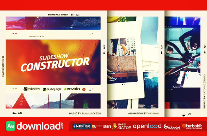 SLIDESHOW CONSTRUCTOR VIDEOHIVE TEMPLATE FREE DOWNLOAD - Free After