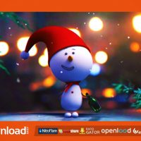 SNOWMAN INTRO FREE DOWNLOAD VIDEOHIVE TEMPLATE
