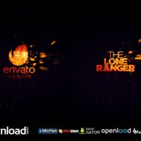SPARK CINEMATIC LOGO REVEAL FREE DOWNLOAD VIDEOHIVE TEMPLATE