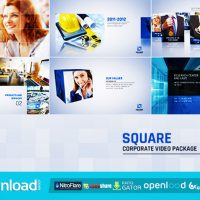 SQUARE CORPORATE VIDEO PACKAGE (VIDEOHIVE PROJECT) FREE DOWNLOAD