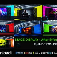 STAGE DISPLAY (VIDEOHIVE PROJECT) FREE DOWNLOAD
