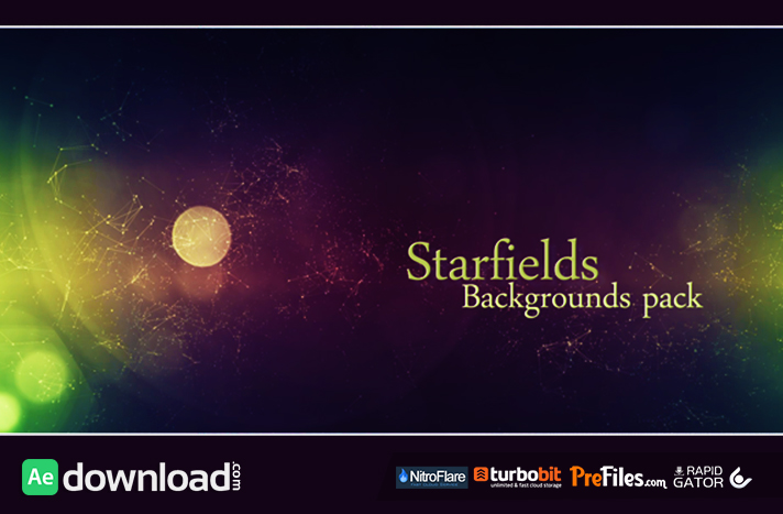Starfields Backgrounds Pack