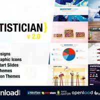STATISTICIAN – MASSIVE INFO GRAPHICS KIT VIDEOHIVE FREE TEMPLATE