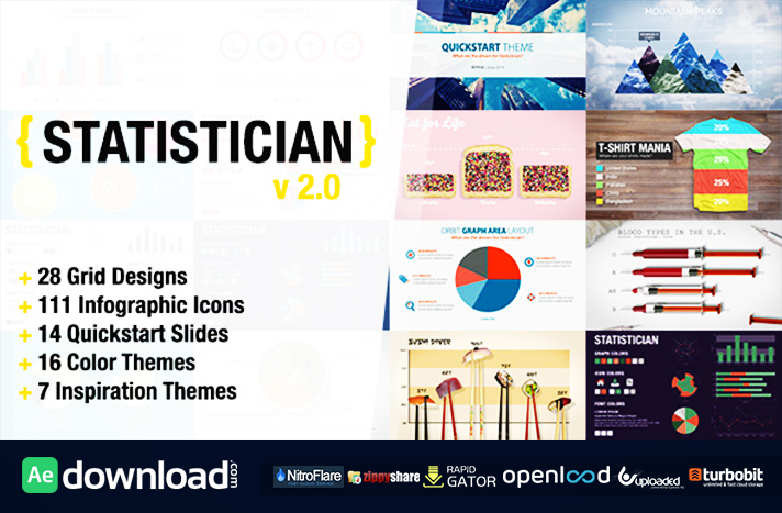 Statistician - Massive Info Graphics Kit