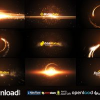 STREAKS LOGO STING PACK VIDEOHIVE PROJECT – FREE DOWNLOAD