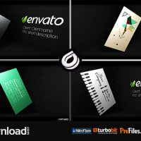 STYLISH PRINT DESIGNS SHOWCASE (VIDEOHIVE PROJECT) FREE DOWNLOAD