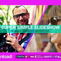SUPER SIMPLE SLIDESHOW FREE DOWNLOAD VIDEOHIVE TEMPLATE