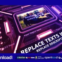 THE INTENSE TECHNO CUBE TEMPLATE FREE DOWNLOAD – VIDEOHIVE PROJECT