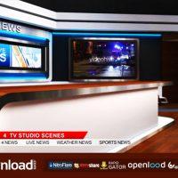 TV STUDIO 102 – FREE VIDEOHIVE TEMPLATE