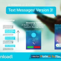 TEXT MESSAGES (VIDEOHIVE PROJECT) FREE DOWNLOAD