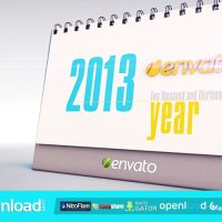 THE DESK CALENDAR FREE DOWNLOAD VIDEOHIVE PROJECT