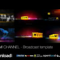 THE FILM CHANNEL FREE VIDEOHIVE TEMPLATE