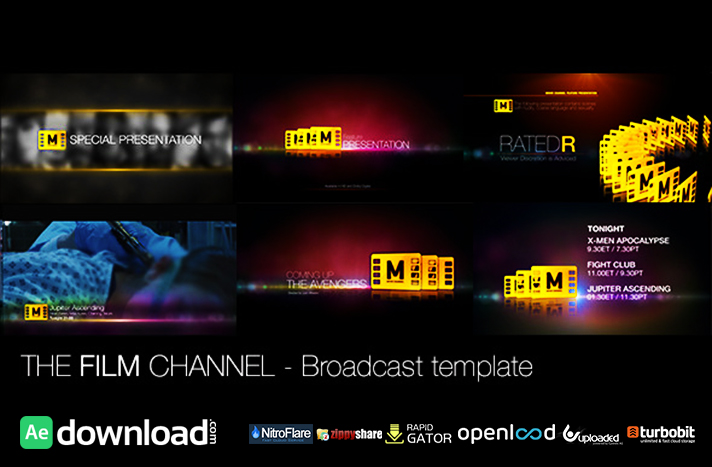 The Film Channel free download (videohive template)