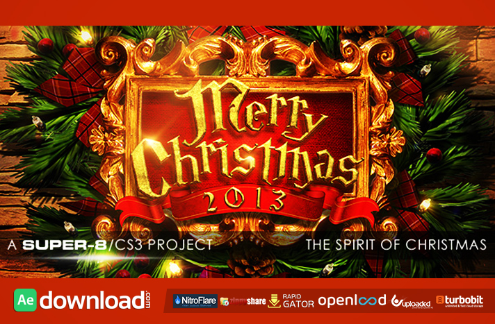 the spirit of christmas videohive template free download