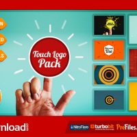 TOUCH LOGO PACK – FLAT INTERACTIVE MEDIA REVEALS (VIDEOHIVE PROJECT) FREE DOWNLOAD