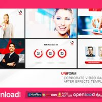 UNIFORM – CORPORATE VIDEO PACKAGE – FREE VIDEOHIVE TEMPLATE