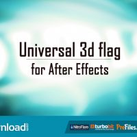 UNIVERSAL 3D FLAG (VIDEOHIVE PROJECT) FREE DOWNLOAD