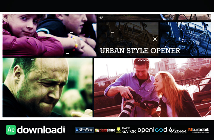 Urban Style Opener free download (videohive template)
