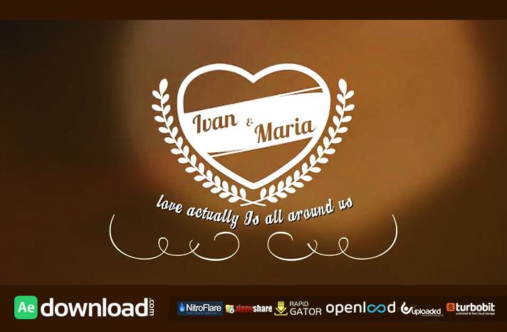 vintage romantic titles pack free after effects templates