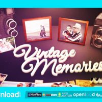 VINTAGE UNIQUE MOMENTS FREE DOWNLOAD VIDEOHIVE PROJECT