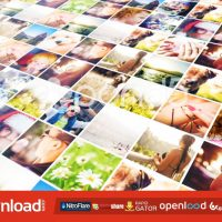 CUBE EFFECT PHOTO DISPLAY POND5 TEMPLATE FREE DOWNLOAD