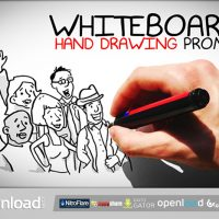WHITEBOARD HAND DRAWING PROMO FREE DOWNLOAD| VIDEOHIVE TEMPLATE